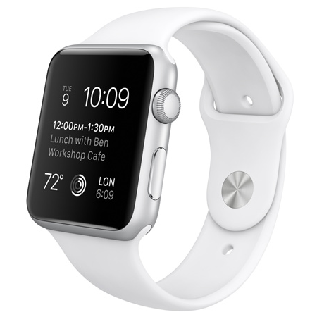 Apple Watch Sport Series 1 42mm with Sport Band White