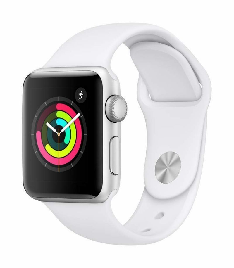 Купить Apple Watch Series 4 44mm Silver / Sport White в Ростове-на-Дону