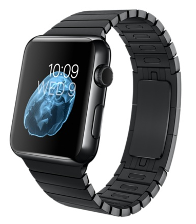 Apple Watch 42mm Space Black Stainless Steel Case with Space Black Stainless Steel Link Bracelet