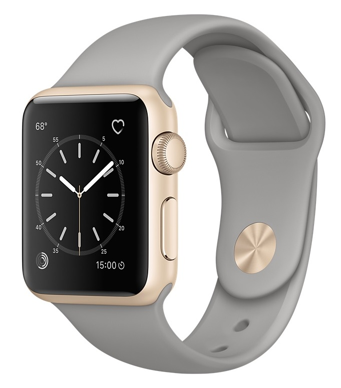 Купить Apple Watch Sport Series 2 38mm Gold with Concrete Sport Band в Ростове-на-Дону