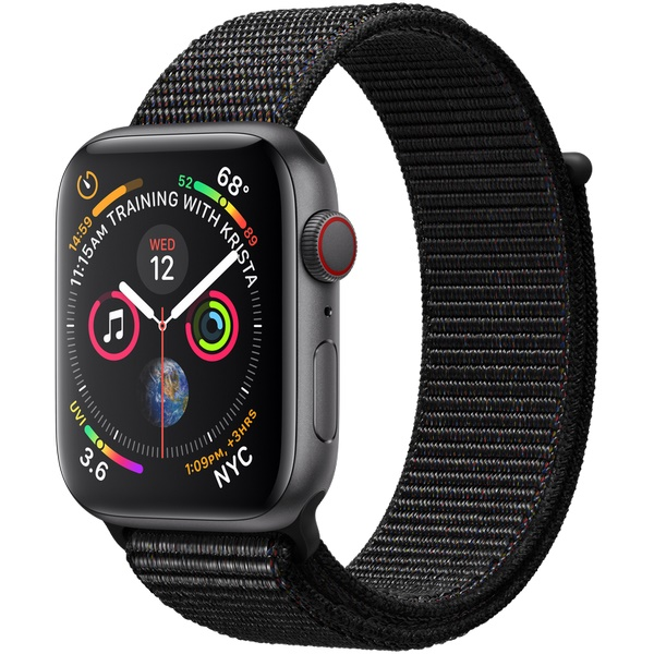 Купить Apple Watch Series 4 44mm Space Gray / Sport Black в Ростове-на-Дону